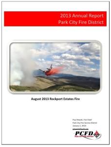 Annual Report Cover - 2013