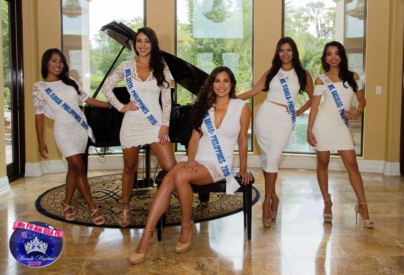 Miss Fil-Am USA 2015 Finalists