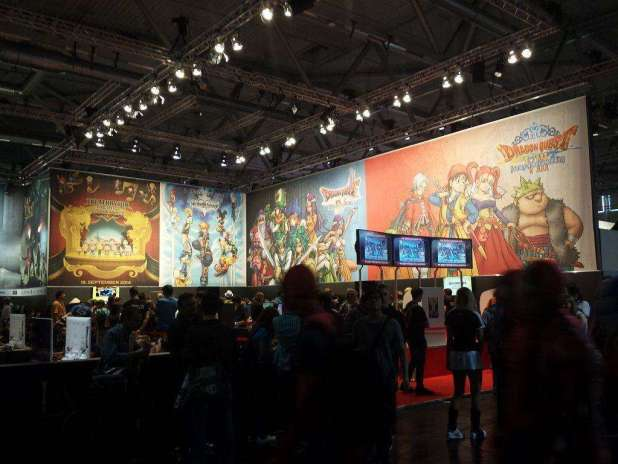 בימת התצוגה של Square Enix בשנת 2014