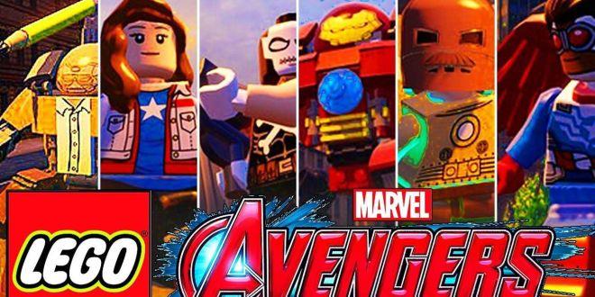 הדמויות בלגו מארוול Lego Marvel's Avangers