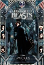 Fantastic Beasts and Where to Find Them SDCC Poster