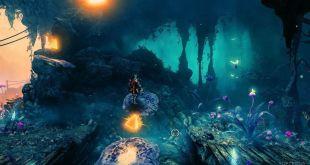 המחשב של מצב ה-3D שהגיע לראשונה לסדרת המשחקים Trine