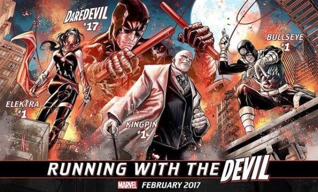 Elektra Marvel Running with the Devil