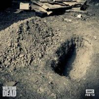 walking dead grave מתים מהלכים