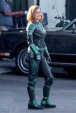 Brie Larson ברי לארסון קפטן מרוול Captain Marvel 1