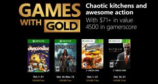 Xbox Live October 2018