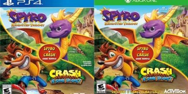 Spyro ו-Crash