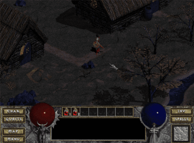 Diablo 1 Tristram