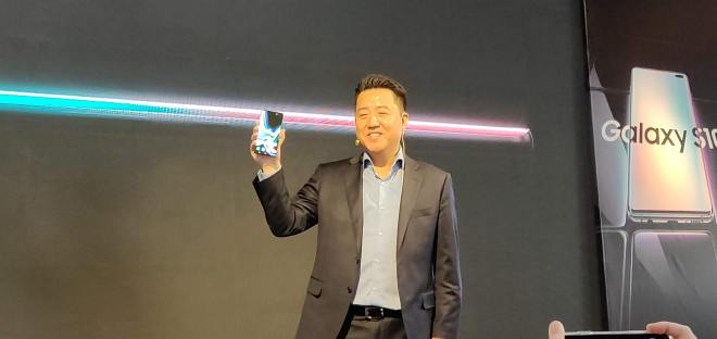 Samsung S10 Launch