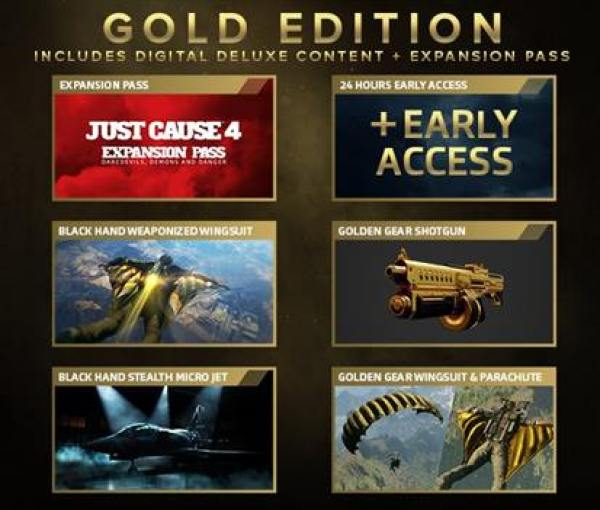Just Cause 4 GOLD INFO