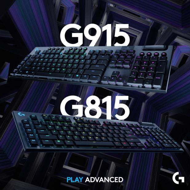 G815 G915 Logitech