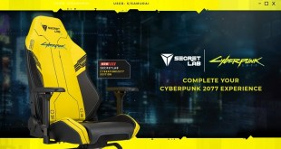 Cyberpunk 2077 x Secretlabs