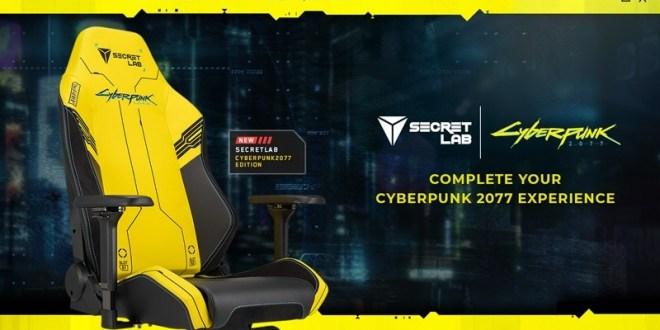 Cyberpunk 2077 x Secretlabs