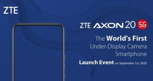 ZTE Under Display Smartphone