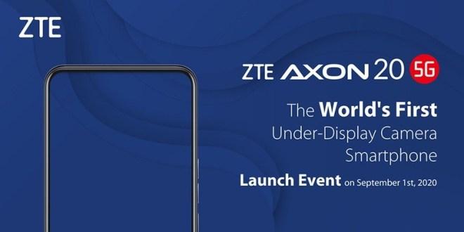 ZTE Under Display Smartphone