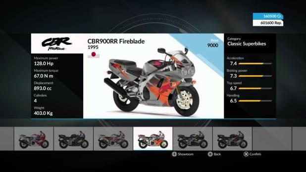 במשחק RIDE 4 תוכלו להרוויח כסף ולקנות אופנועים במהירות