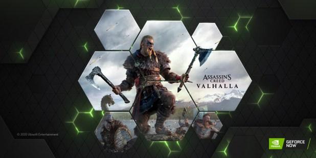 AC Valhalla נוסף לשירות GeForce Now