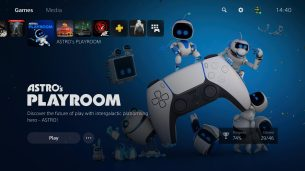 Astros Playroom Main Screen