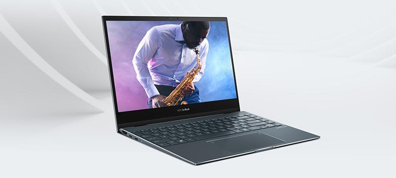 המסך שמשנה הכל –סיקור Asus ZenBook Flip 13 OLED