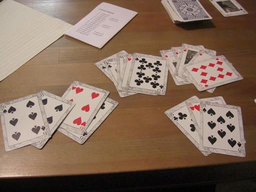バカラのカードの数字の数え方とは?