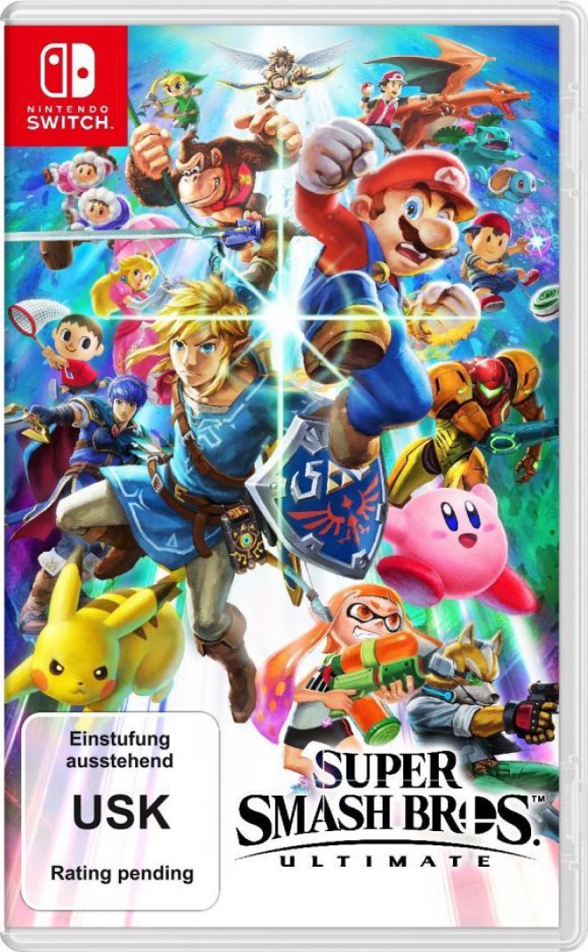 Super Smash Bros Ultimate USK Logo Instead Of Yoshi TECH2