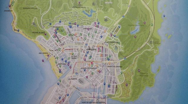GTA 5 Map Foto Zeigt Erstmals Komplette Karte Von Los Santos
