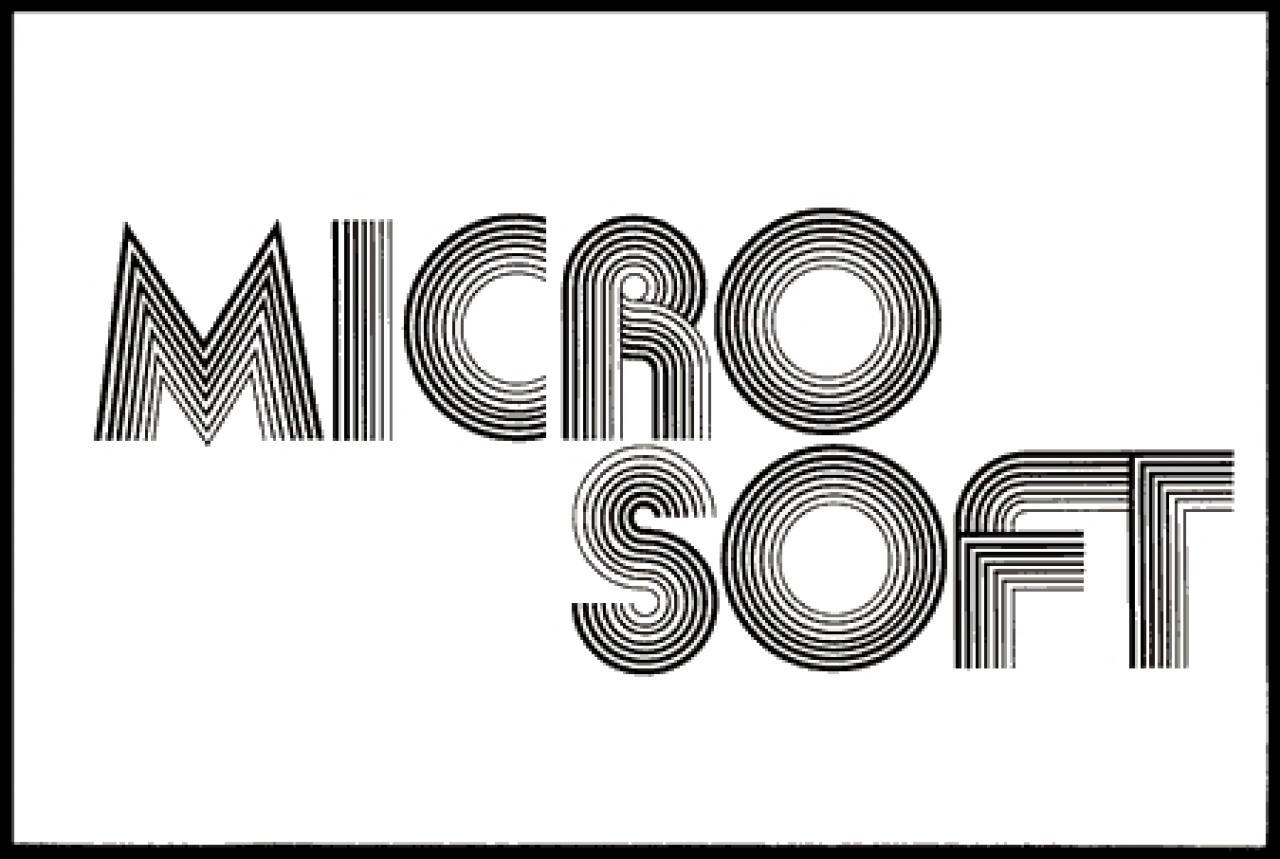 Das Neue Microsoft Logo Vor Dem Windows 8 Release