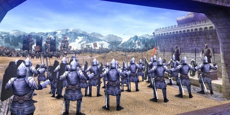 Schlacht Um Mittelerde Fans Bauen Strategiespiel In Unreal Engine 4 Nach