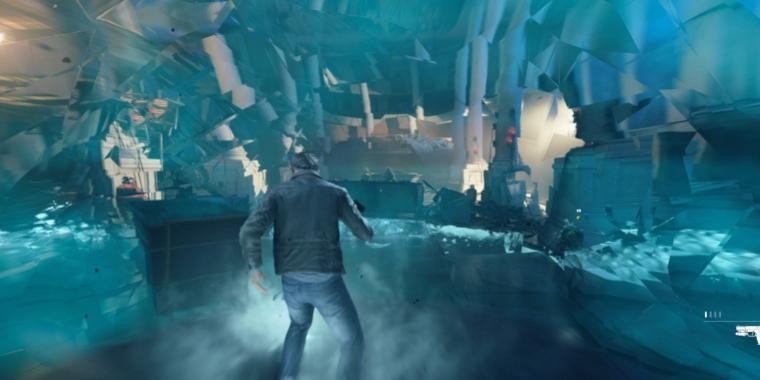 Quantum Break sieht auf der Xbox One X deutlich besser aus als auf der Xbox, trotz 1440p.