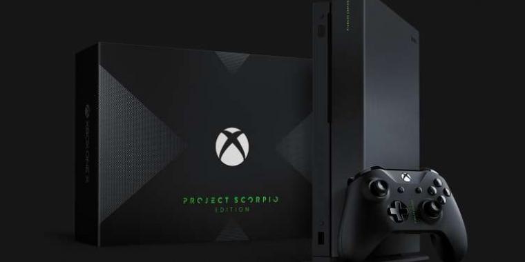 Die Project Scorpio Edition ist für Fans des Codenames der Xbox One X gedacht.