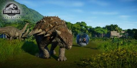 Jurassic World Evolution begnügt sich mit relativ schwacher Technik.