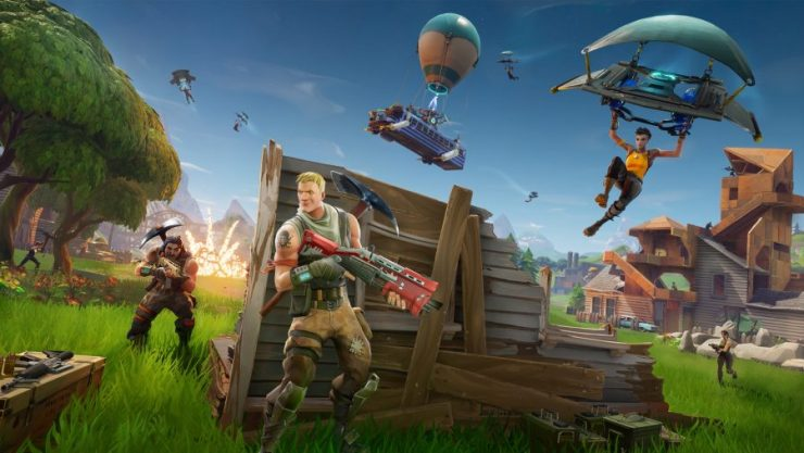 Fortnite, one of the best Battle Royale games