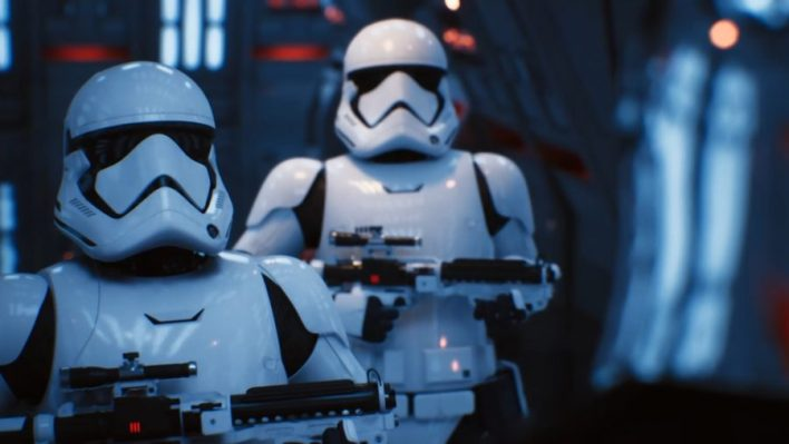 Rayon des étoiles Star Wars sur RTX 2080
