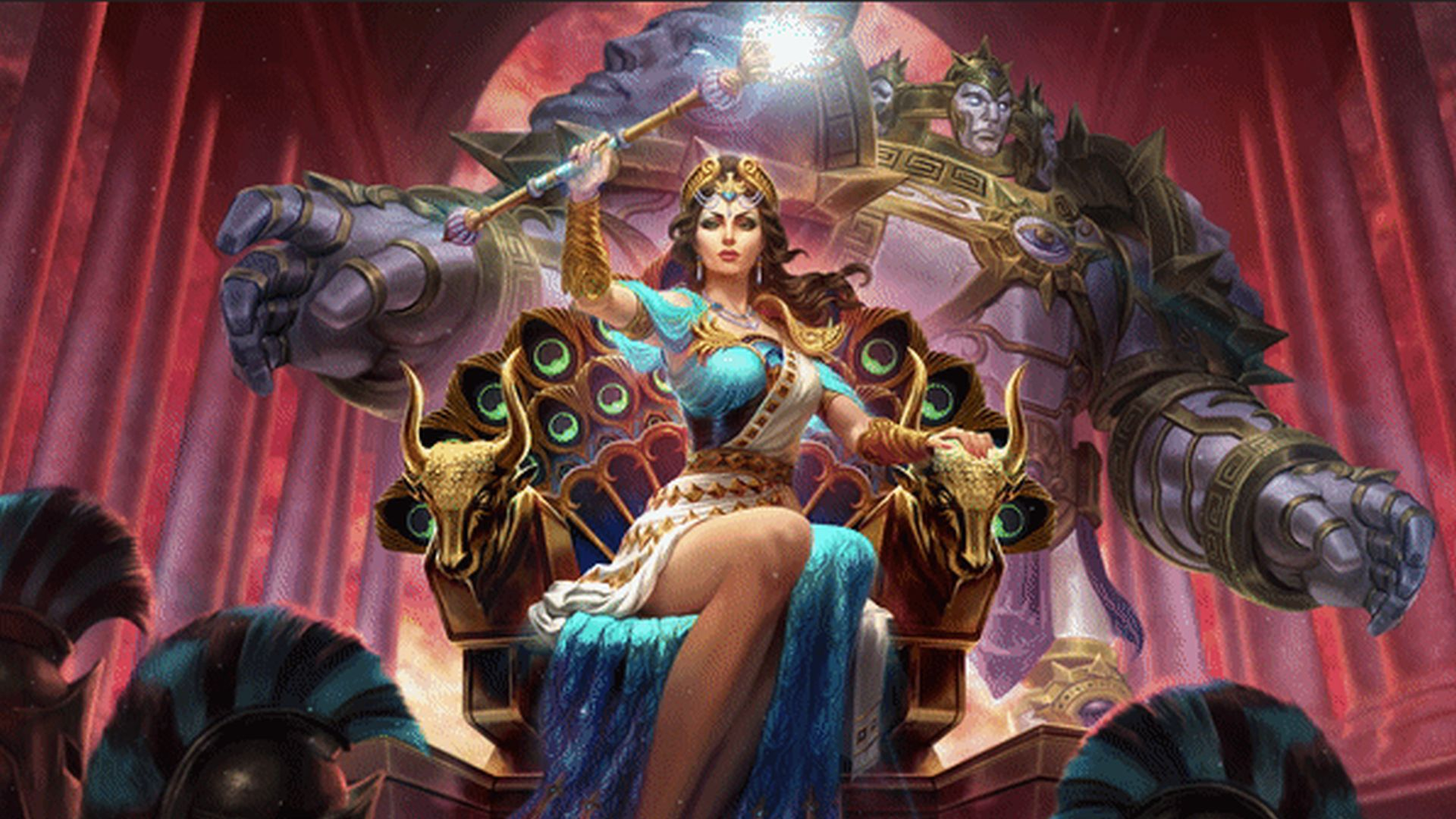 Hera Comes To Smite And She Can Turn You Into A Peacock
