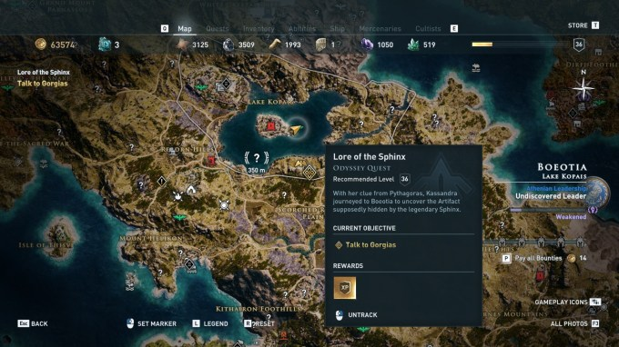 Assassin S Creed Odyssey Sphinx Riddles How To Find And Defeat The Mythical Beast Pcgamesn