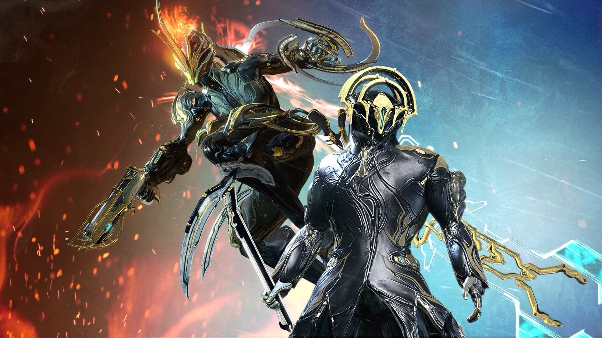 Ember And Frost Headline Next Week S Warframe Prime Vault