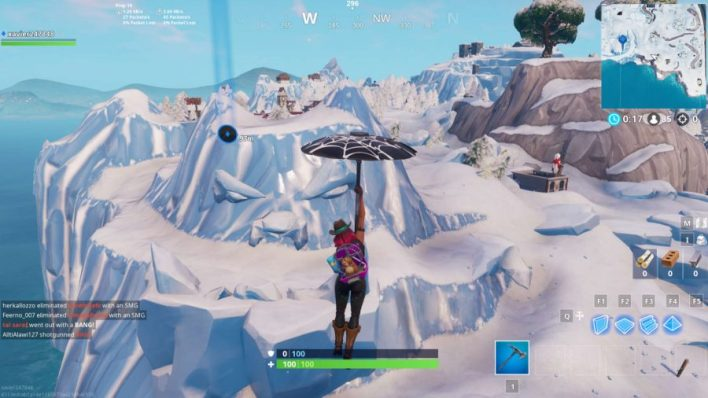 All giant face locations in fortnite