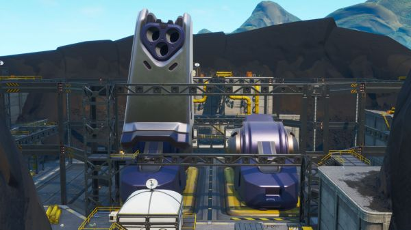 Accessible With Bot Spray Inside A Robot Factory In Fortnite