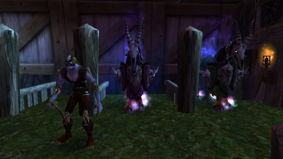 WoW Classic mounts, undead horse