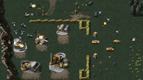 Command & Conquer: Remastered lets you toggle new and old graphics at any time