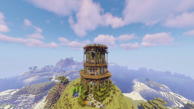 Minecraft tower designs: reach for the stars with our guide to the