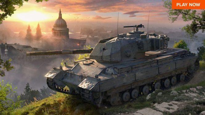 Tank games World of Tanks