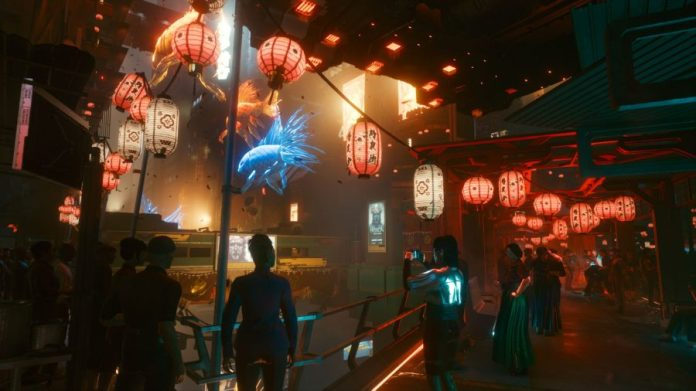 Cyberpunk 2077 Raid Mission - Japantown Market