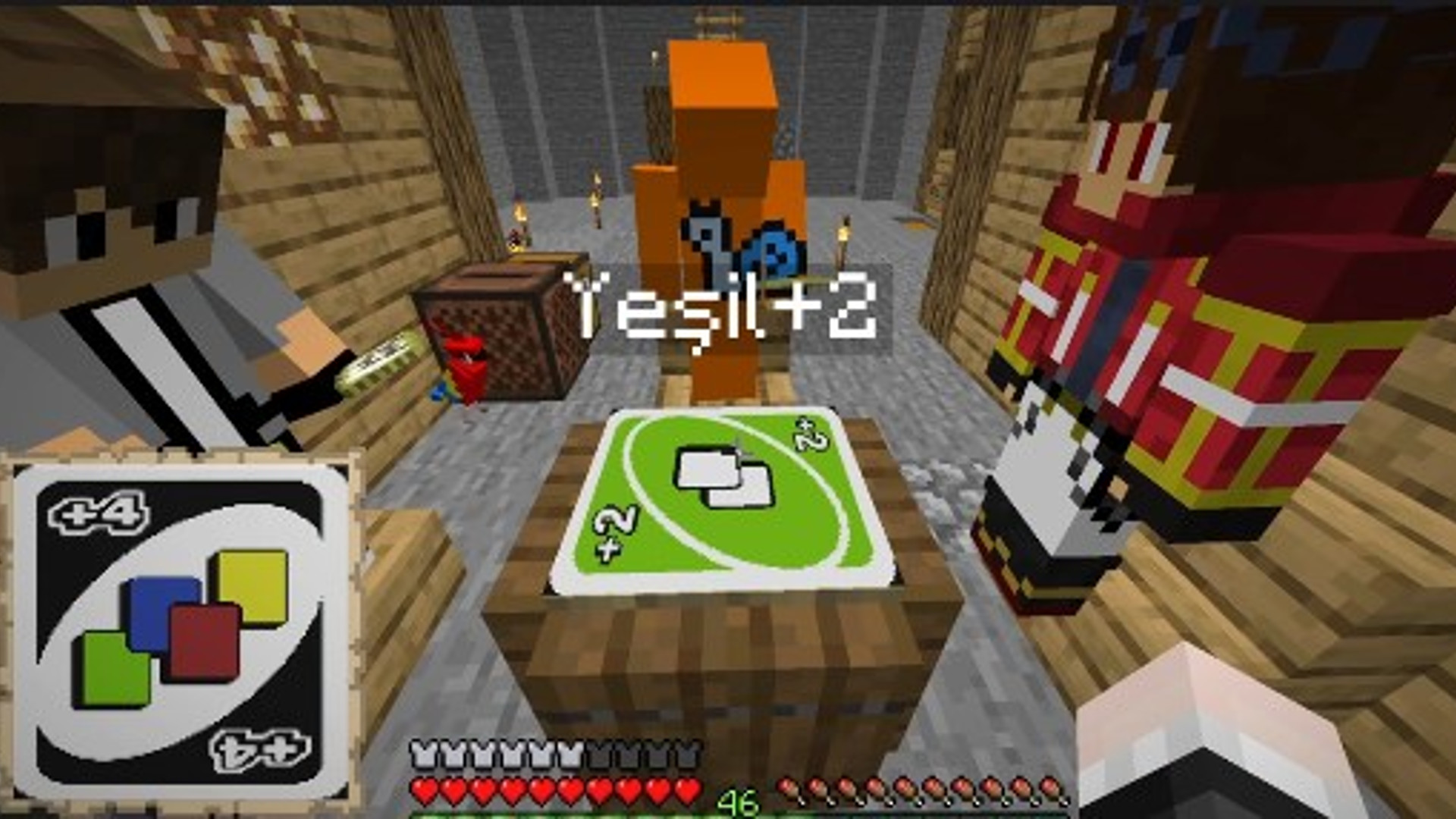 Minecraft playable single participant builds