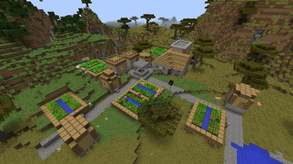 Minecraft seed 7281974495141360449