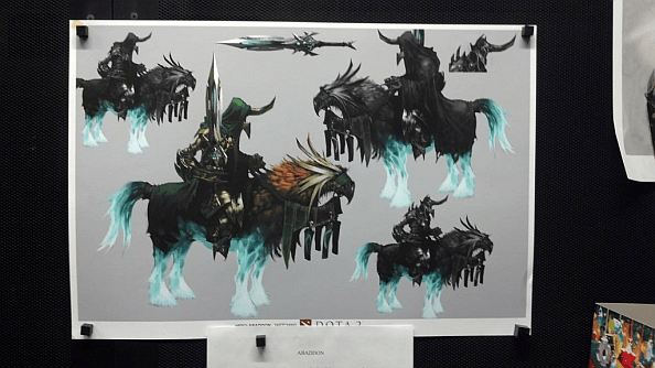 Dota 2 Hero Concept Art Revealed Legion Commander Is Indeed A Woman PCGamesN