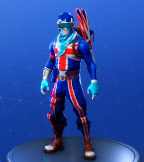 fortnite skins alpine ace great britain