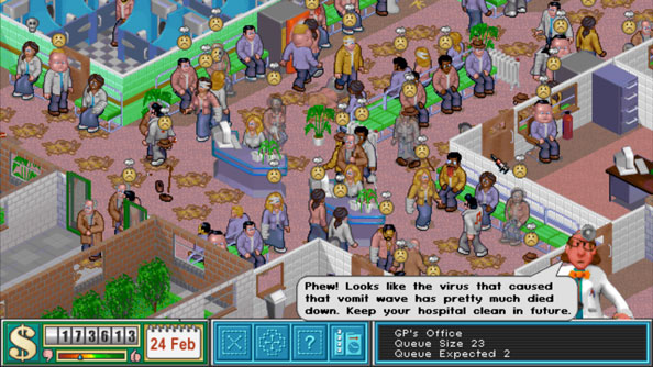 A new game from the Theme Hospital creators and Sega will be     A new game from the Theme Hospital creators and Sega will be revealed next  week
