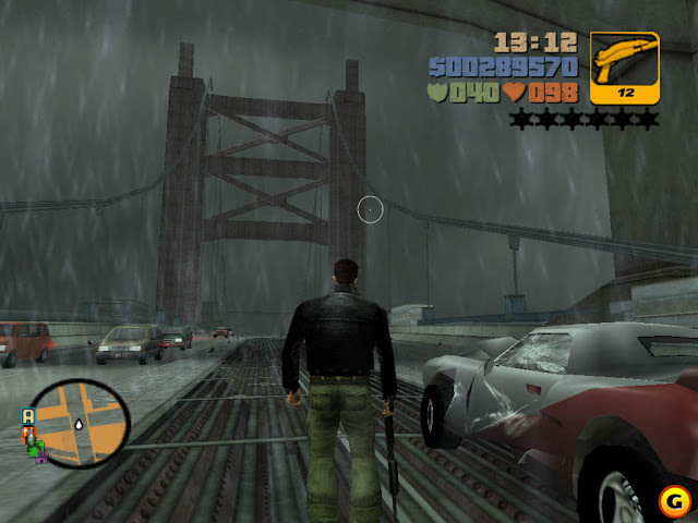 GTA 3 Compressed PC Game Free Download 198MB