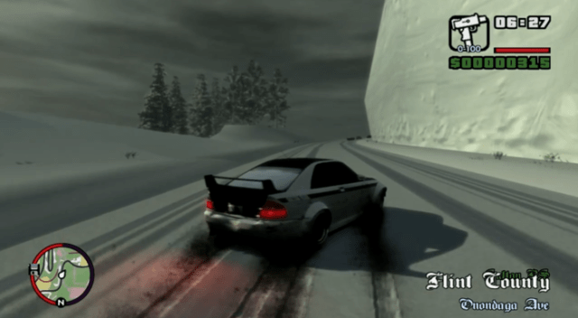 GTA San Andreas Snow Compressed PC Game Free Download 795 MB